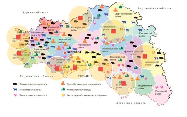 Карта – схема